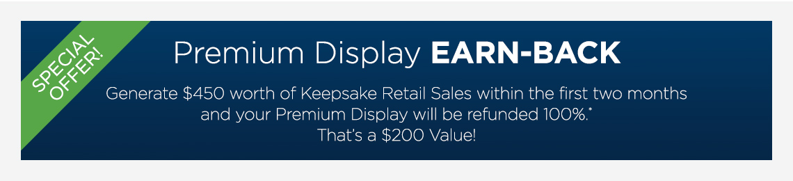 Display Earn Back Program
